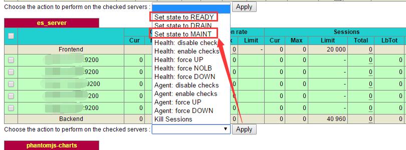 Haproxy进阶管理:命令行控制后端节点上下线