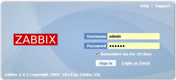 zabbix监控在lnmp环境下编译安装小记